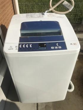 きれいになった日立の洗濯機