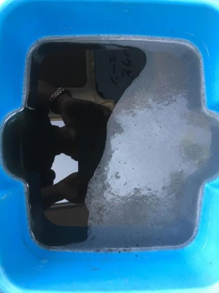 洗浄時の汚水