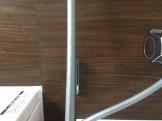 茶色の壁の水あかがきれいに取れました