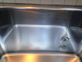 きれいになった浴槽