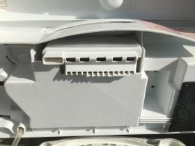 きれいになった洗濯機の柔軟剤を入れるところの裏側